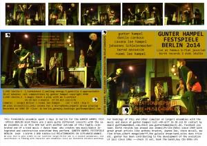 faltcover 14o31o-1+2 festspiele berlin-b-flat neu