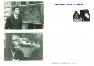gu + kenny clarke 1966 pics gunter